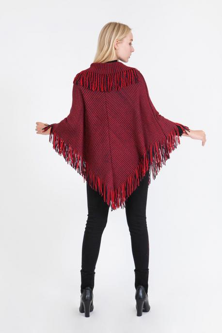 red-poncho