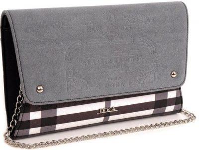 extravagantná listová kabelka so vzormi
