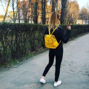 batoh kožený ruksak rôzne farby módny doplnok