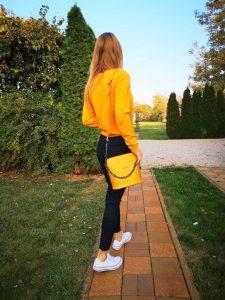 športovo elegantná praktická kožená kabelka bagger gabi bags