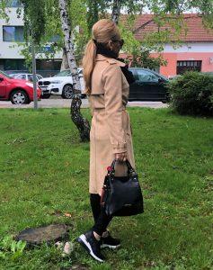 športovo elegantná vaková kabelka bagger na každý deň