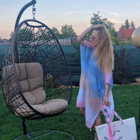 letné šaty prehoz