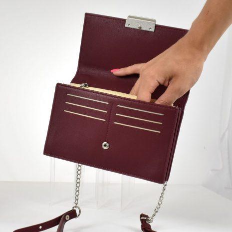 karen bordová mini kabelka peňaženka