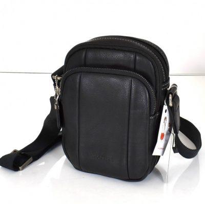 Pánska kabelka v čiernej farbe pre pánov na každodenné využitie