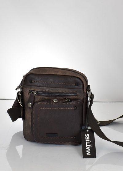 Praktická pánska taška, kvalitného materiálu v štýle crossbody.
