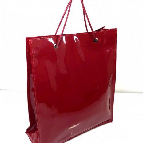BAGGER shopper nákupná taška červená