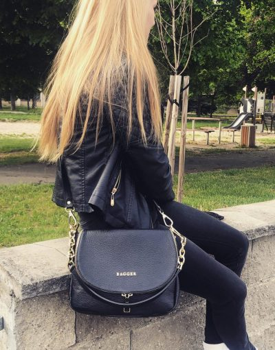 čierna preklopka bagger