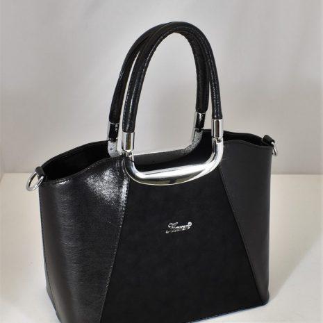 Elegantná kabelka do ruky čierna