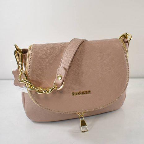 kožené veľké crossbody ružové kabelky dámske