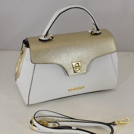 Extravagantná kožená kabelka BAGGER
