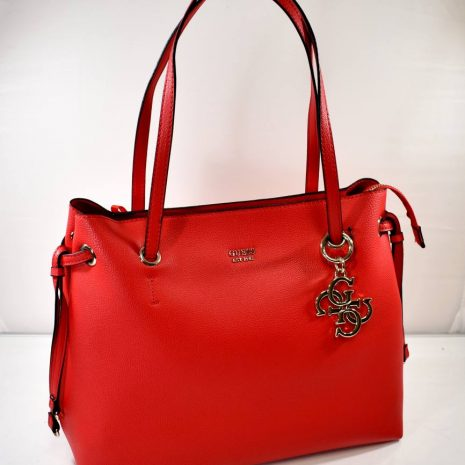 Dámska kabelka na rameno GUESS červená