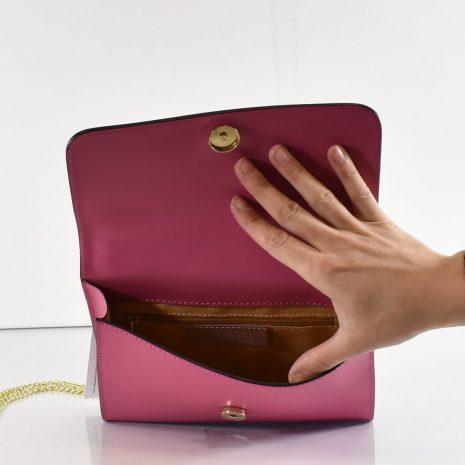 listové kožené kabelky