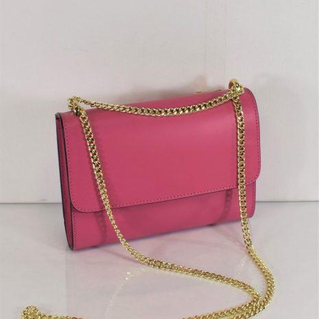 Listová kožená dámska kabelka ITALY