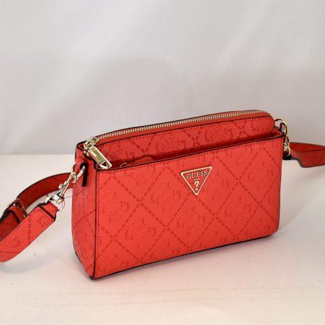 Štýlová GUESS crossbody kabelka červená