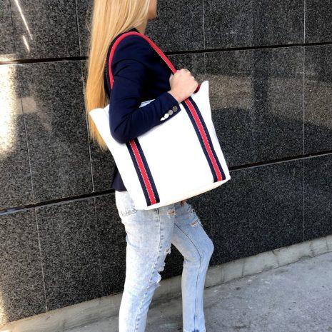 shopper kabelky kožené praktické bagger