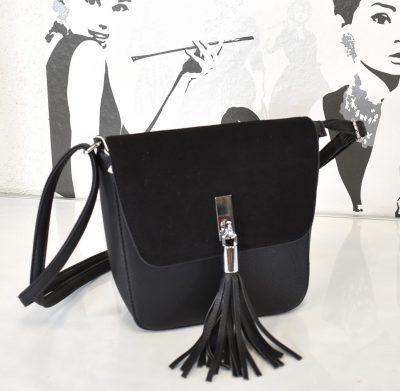 Dámska kabelka s nastaviteľným dlhým uchom na nosenie krížom cez plece alebo na rameno