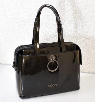 Elegantná kabelka na rameno s prídavným ramienkom