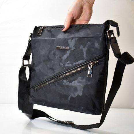 Štýlová, praktická pánska kabelka s nastaviteľným ramienkom