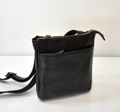 Elegantná VINTAGE kabelka s nastaviteľným ramienkom krížom cez plece
