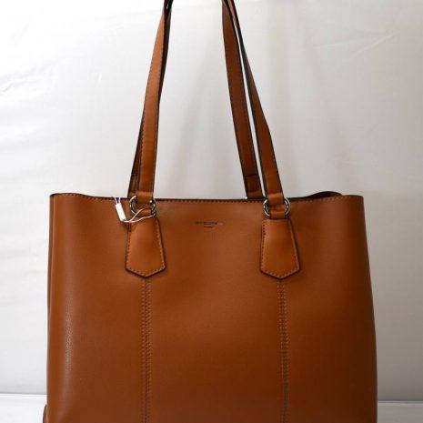 Dámska kabelka na rameno hnedá