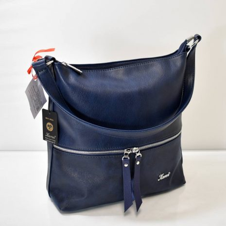 Športovo elegantná kabelka na rameno s prídavným dlhým ramienkom