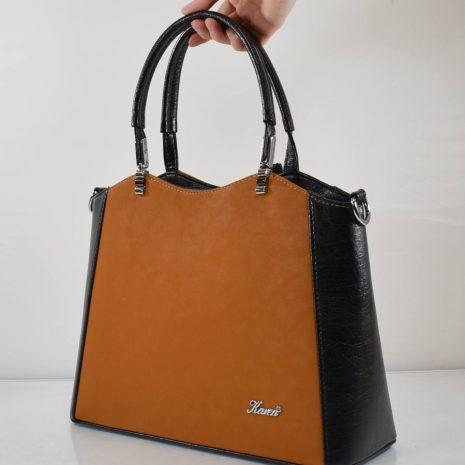 dámske kabelky do práce čierno hnedé