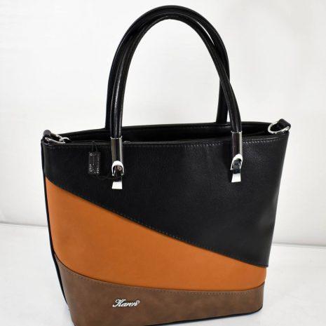 Dámska farebná kabelka v elegantnom štýle