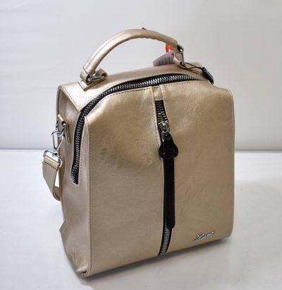 Praktický a štýlový dámsky batoh s prídavným uchom na nosenie aj na rameno