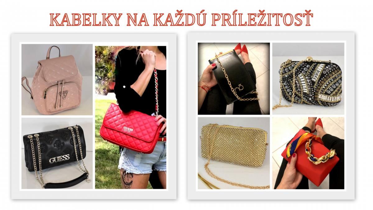 kabelky značkové pre dámy