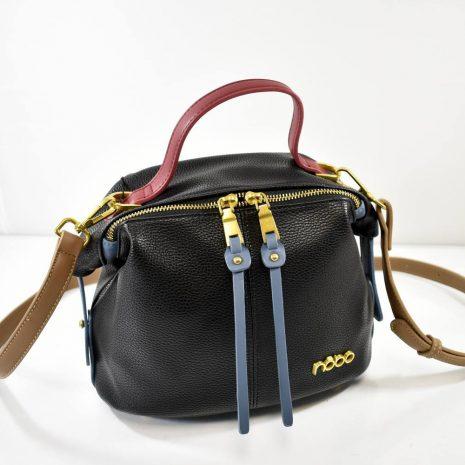 Malá dámska crossbody čierna kabelka NOBO