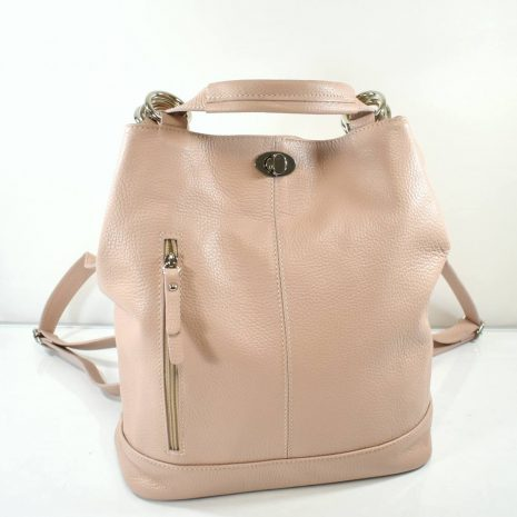 Športovo elegantná dámska kabelka ktorú môžete nosiť ako kabelku na rameno aj ako vak