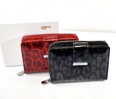 Elegantná dámska menšia peňaženka na zips a magnet