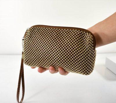Elegantná kozmetická taštička na rôzne drobnosti, kozmetiku pre poriadok vo vašej kabelke či ruksaku