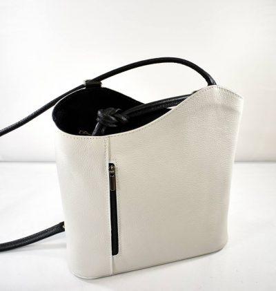 Elegantná,extravagantná kabelkaktorú môžete využiťaj ako ruksak