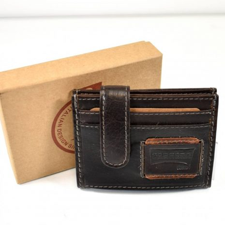 Malá kožená peňaženka na doklady CARRERA