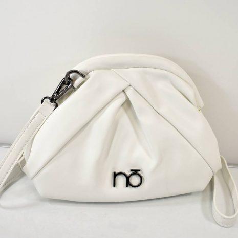 Elegantná dámska biela kabelka crossbody