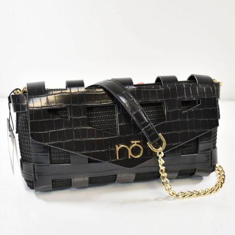 Elegantná dámska kabelka s retiazkovým ramienkom a zaujímavým dizajnom