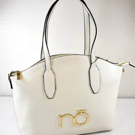 Elegantná dámska biela kabelka na rameno