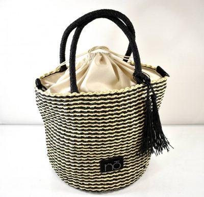 Športovo elegantný dámsky košík/kabelka na horúce letné dni