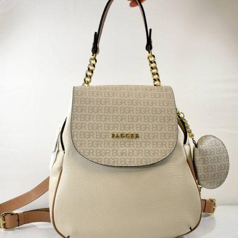 kožené dámske ruksaky bagger dámske hnedé