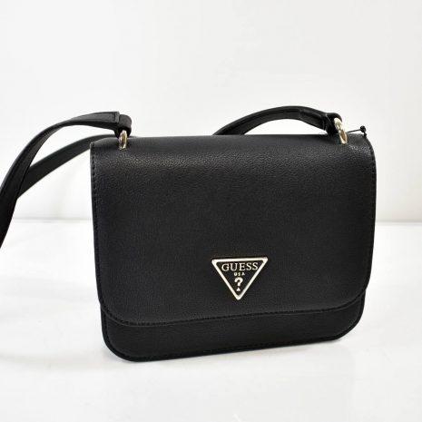 Malá čierna dámska crossbody kabelka GUESS