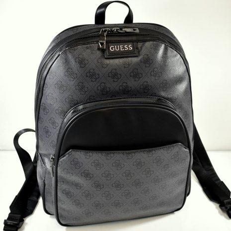 Šedo čierny univerzálny elegantný batoh GUESS