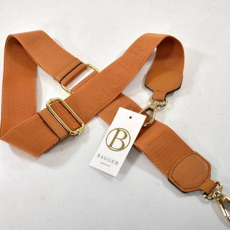 Prídavné dlhé ramienko na kabelku hnedé BAGGER