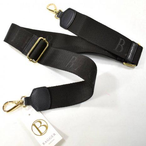 Prídavné dlhé ramienko na kabelku BAGGER čierne