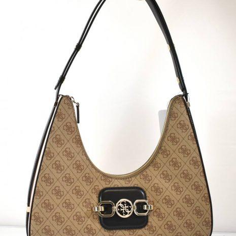 Štýlová dámska hnedá GUESS kabelka na rameno