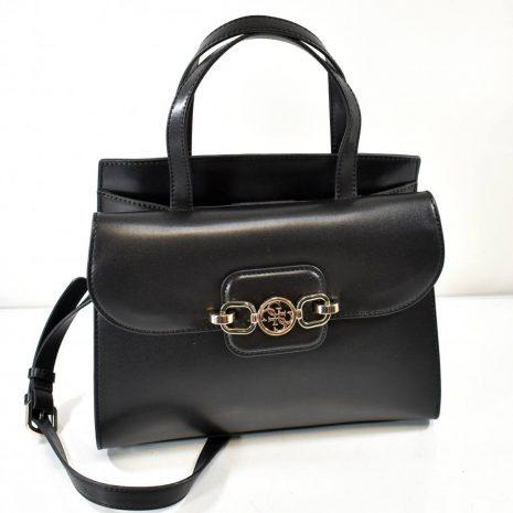 Elegantná dámska čierna kabelka do ruky GUESS
