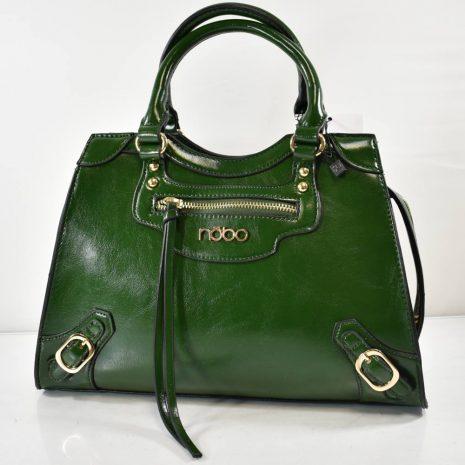 Dámska elegantná zelená kabelka