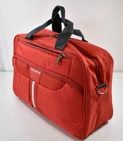Príručná batožina značky TRAVELITE v červenej farbe